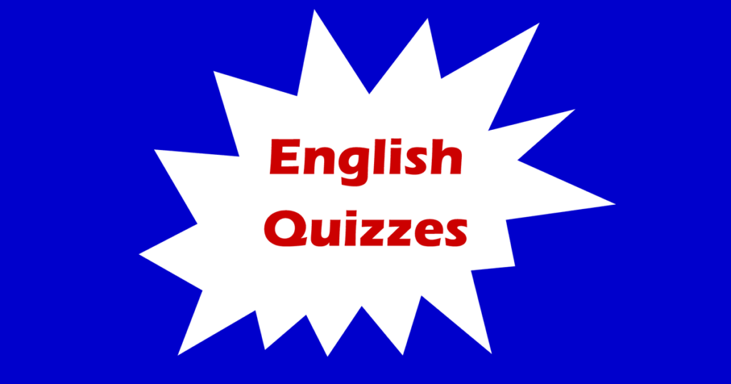 English quizzes